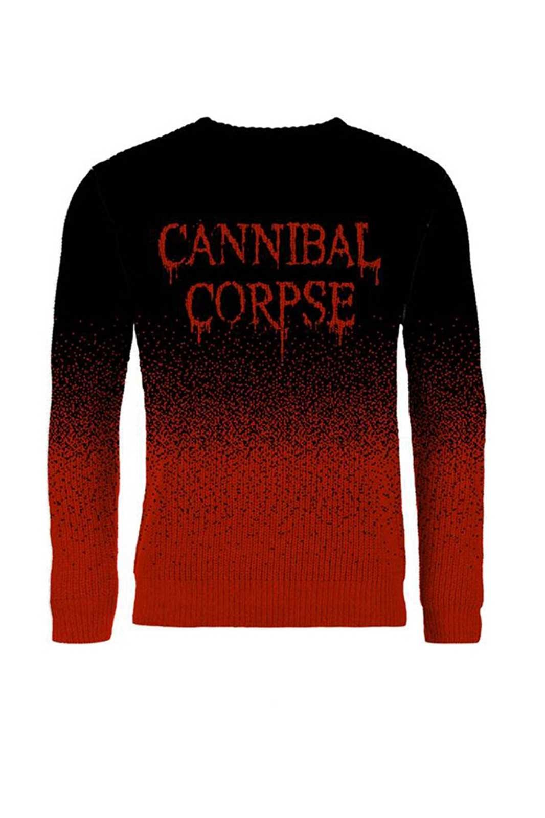 Christmas Sweater Cannibal Corpse