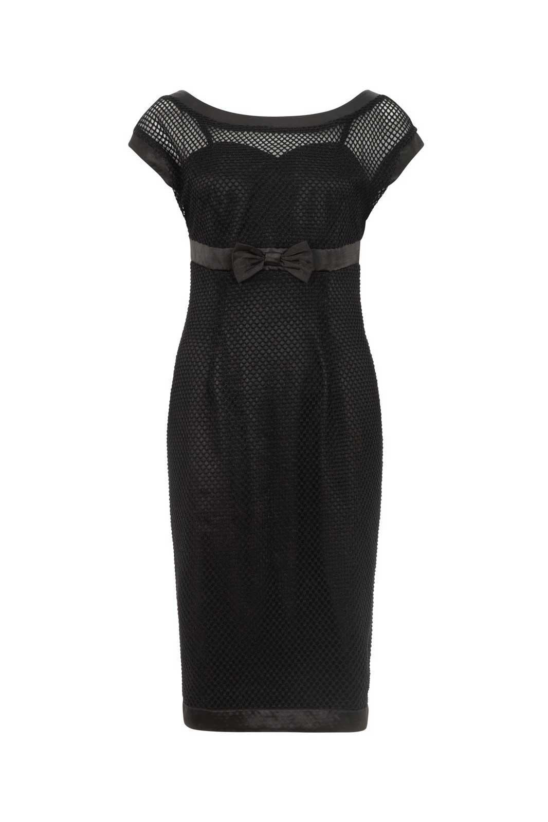 Lysa Mesh Wiggle Dress Front