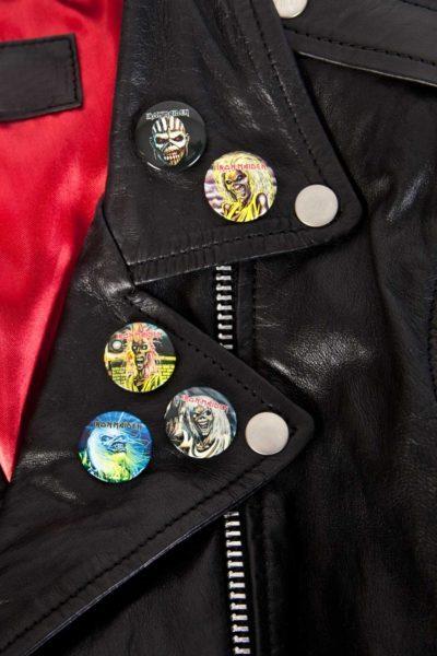 Iron Maiden Faces of Eddie Badge