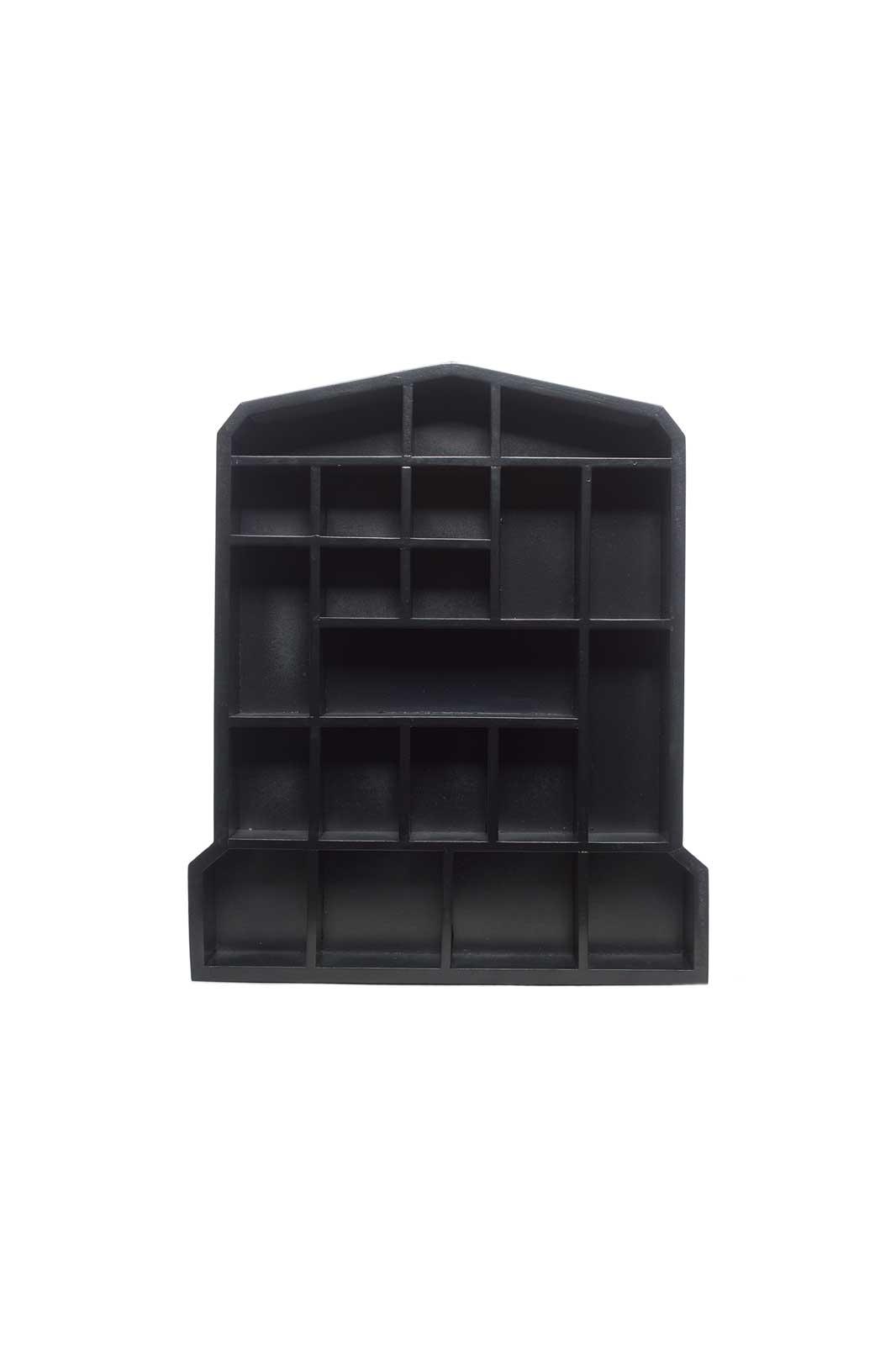 Curio Tombstone Shelf Front