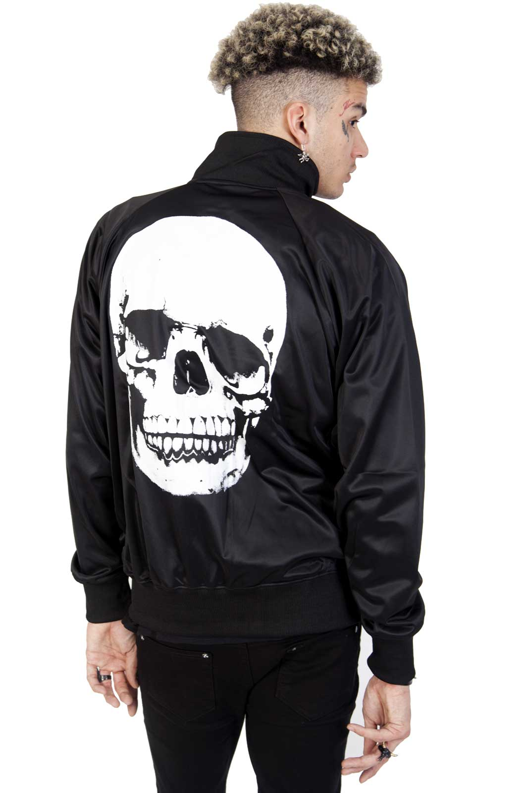 Skull Track Jacket Back