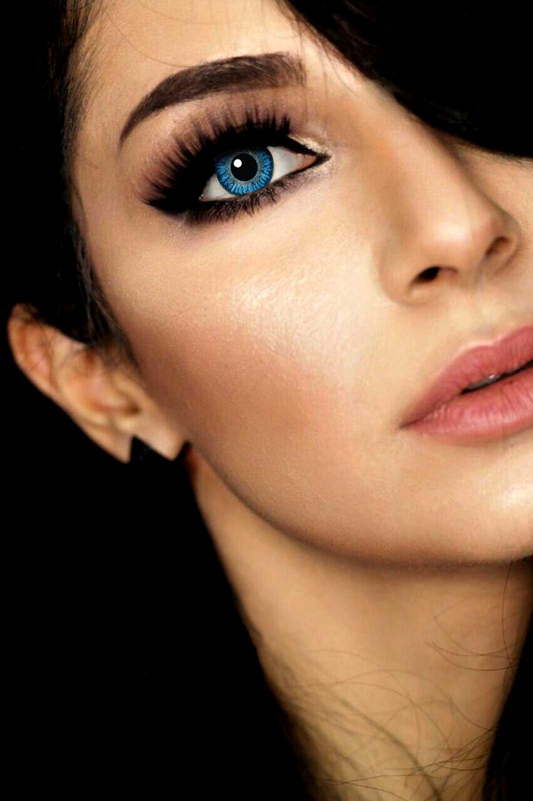 linser från mesmer eyes sapphire blue
