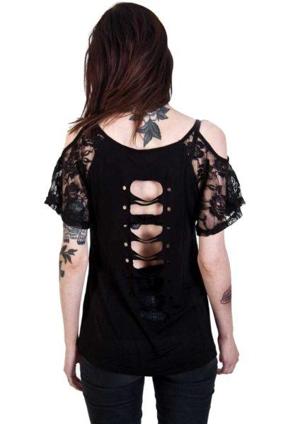 Aura Top Black Back