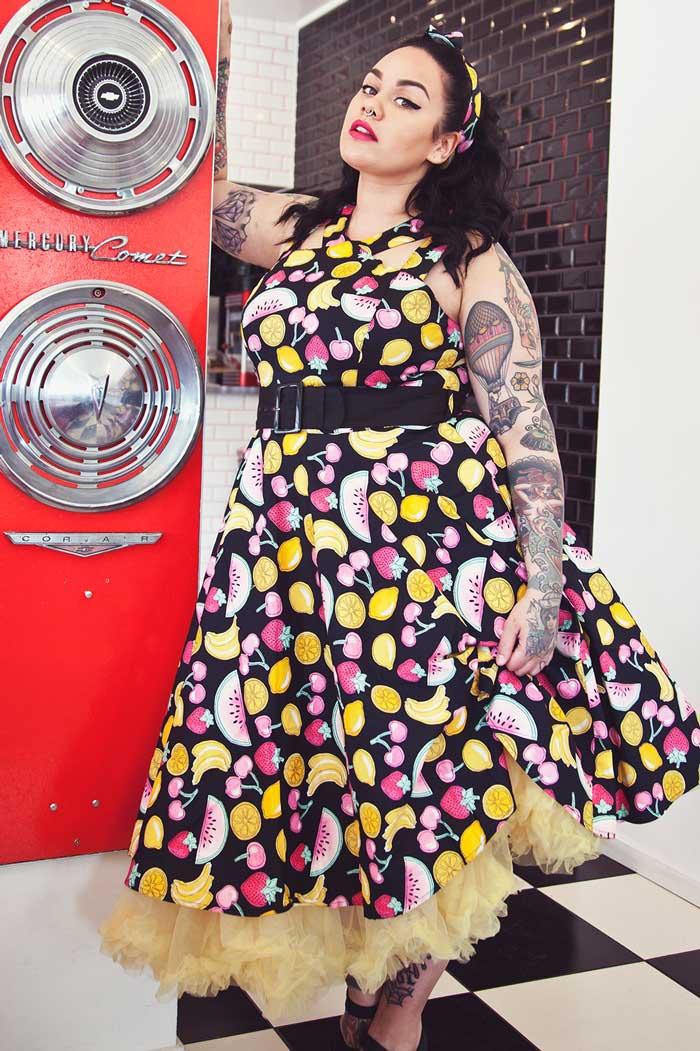 Tutti Frutti 50's Dress Rockabilly
