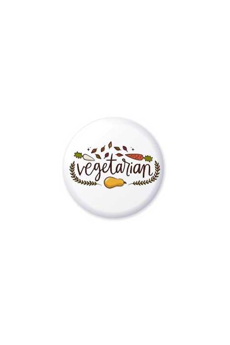 Vegetarian Vegetable Badge