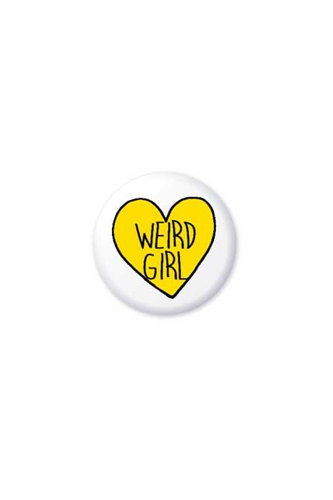 Weird Girl Badge