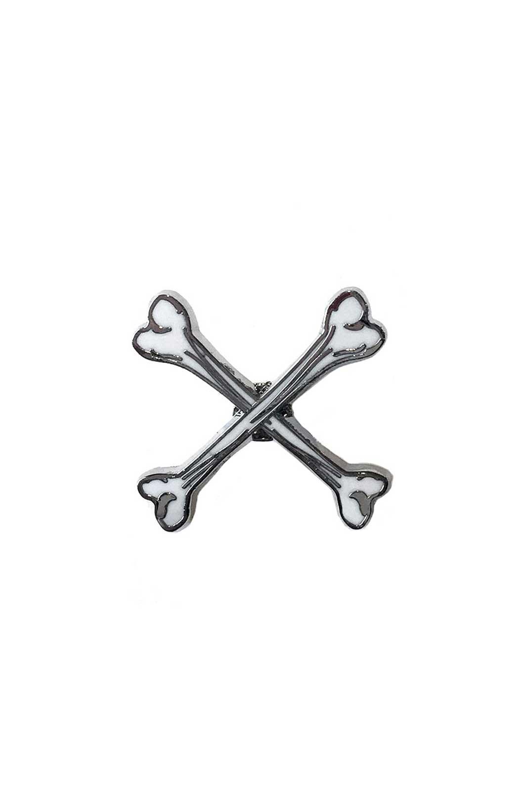 X Marks The Spot Enamel Pin