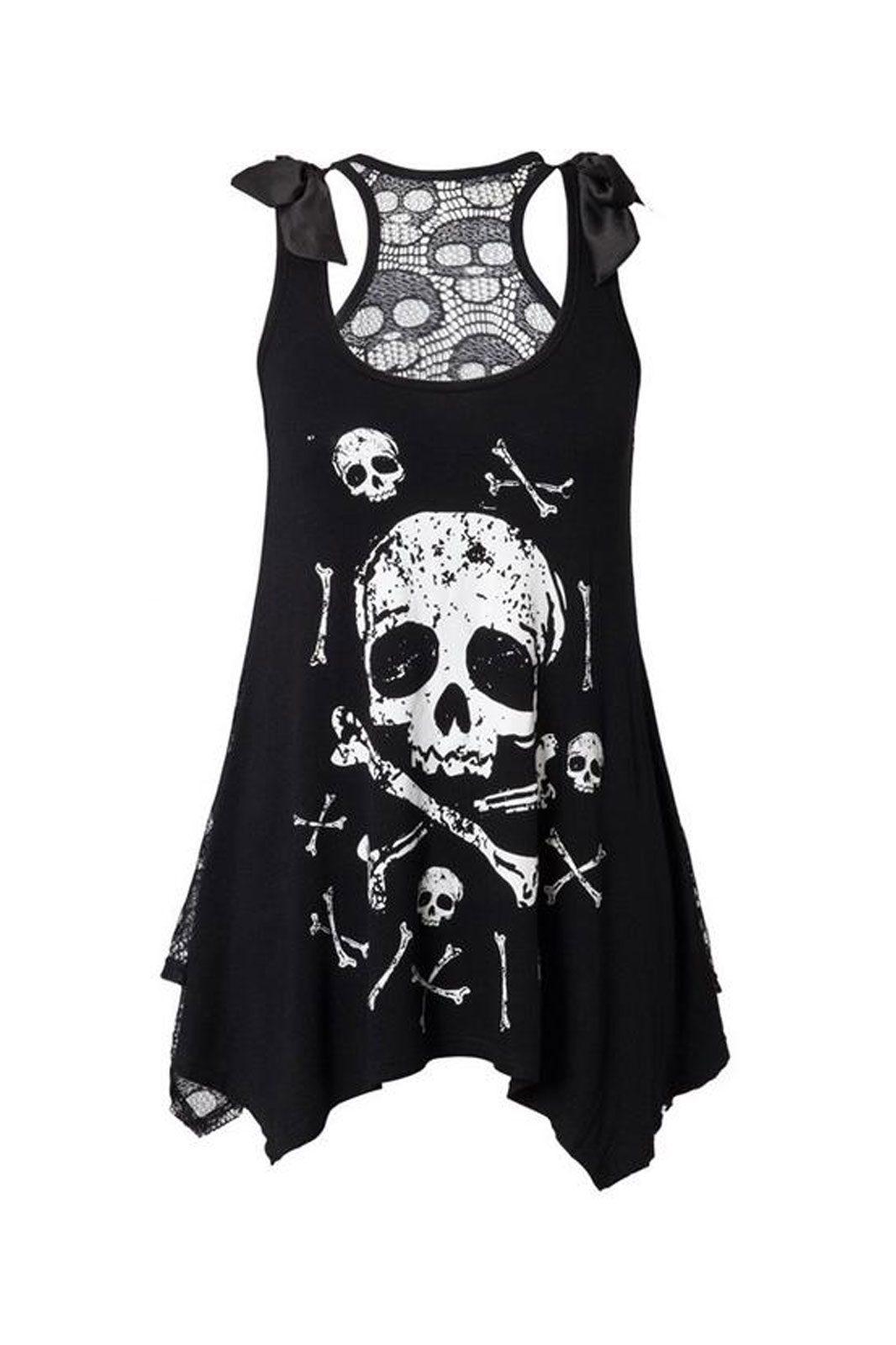 jawbreaker pirate flag vest black