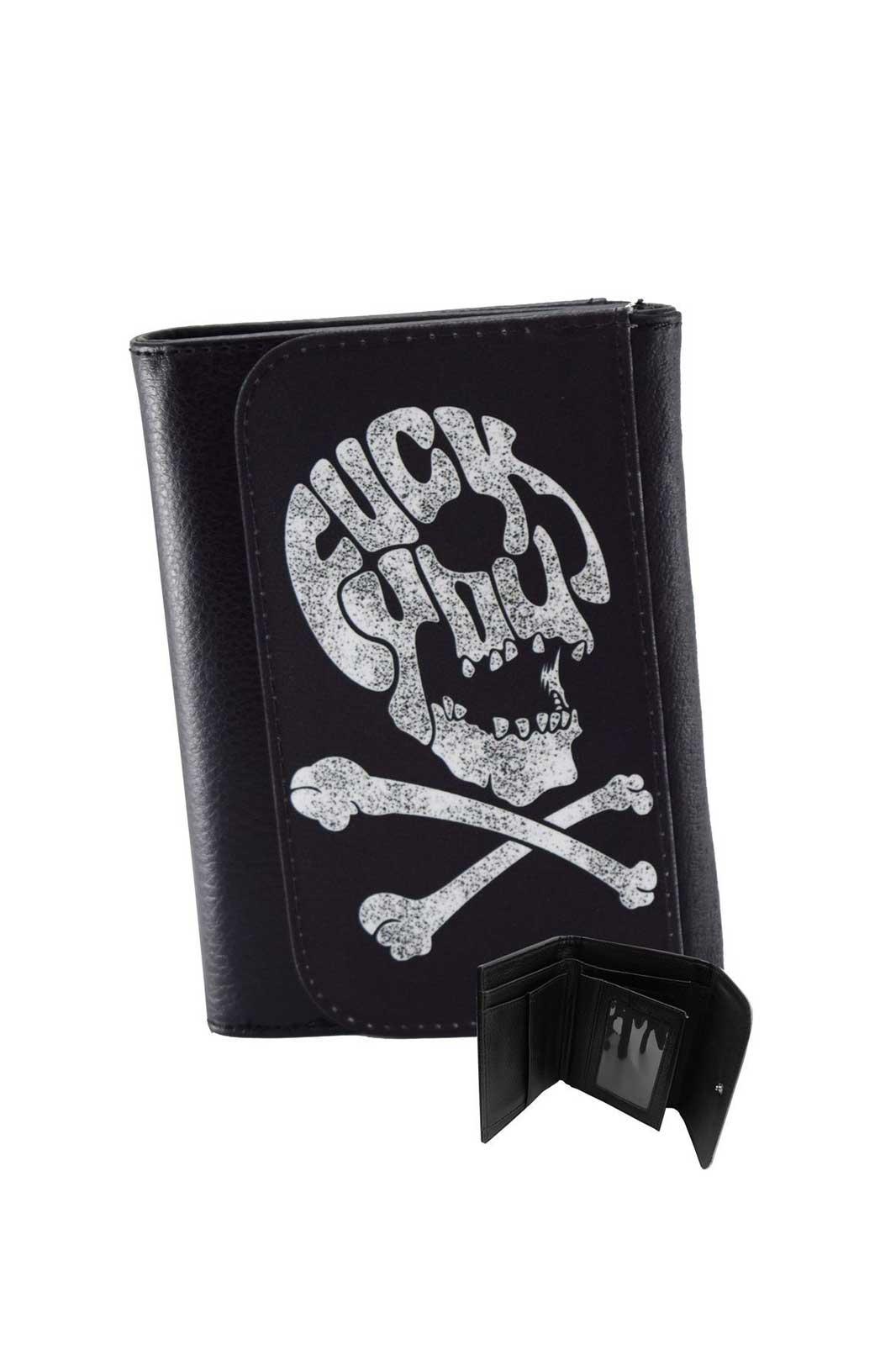 Fuck you Skull Wallet