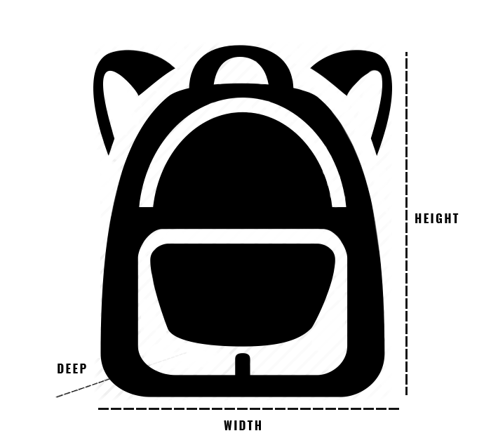 Size guide bags