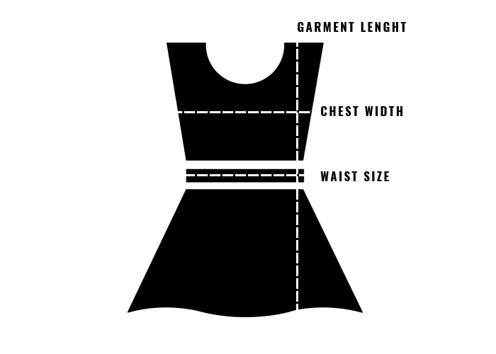 Size guide dresses