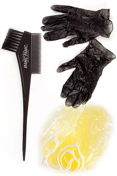 manic panic hair dye tool kit