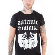 Satanic Feminist Unisex Tee - Shock Store - EU
