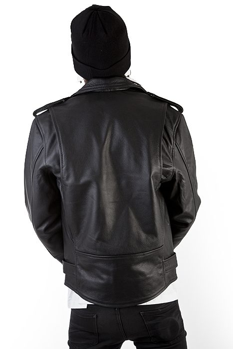 Marlon brando leather jacket Black Shock Store EU