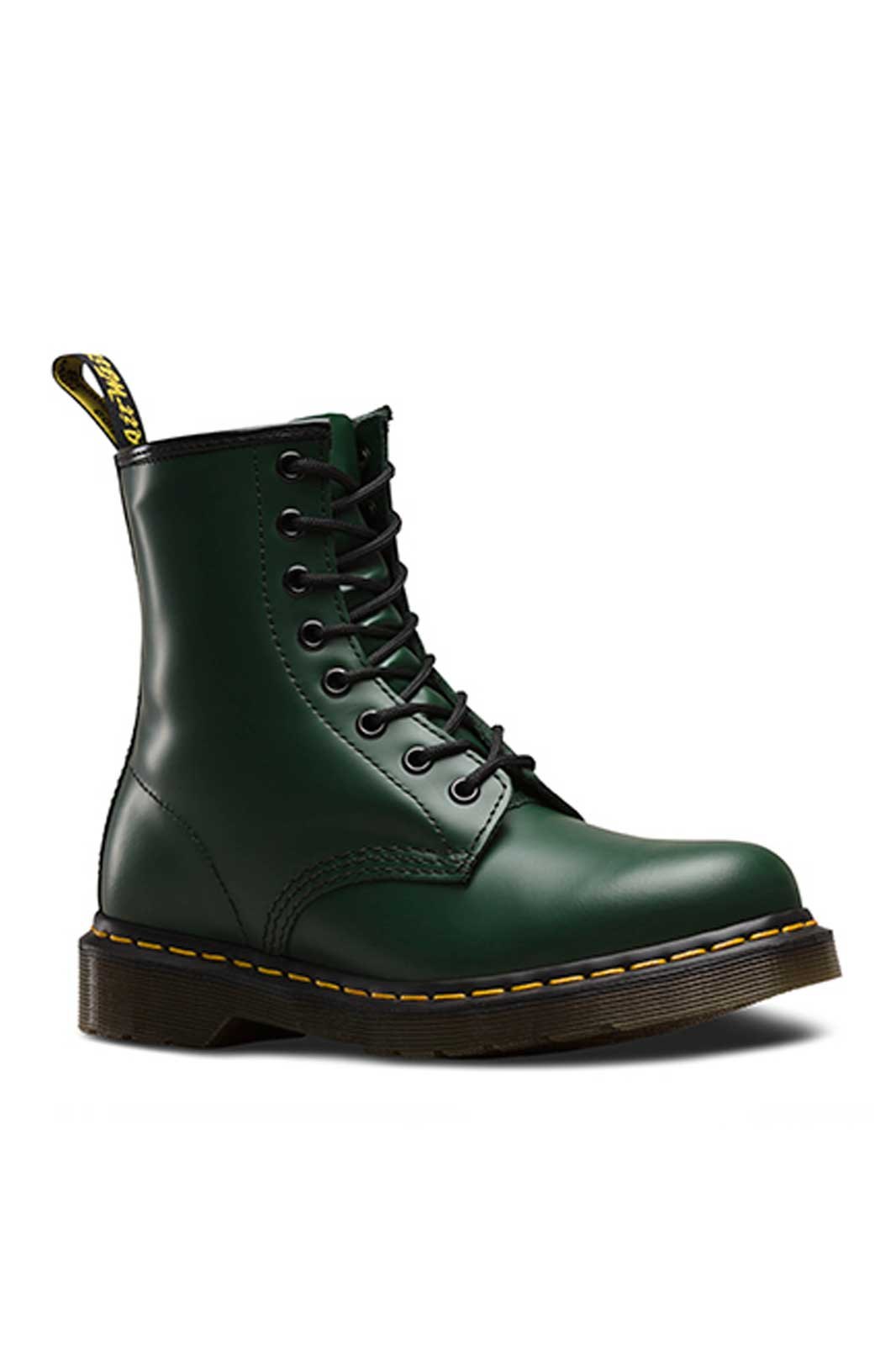 dr martens 1460 8 eye green