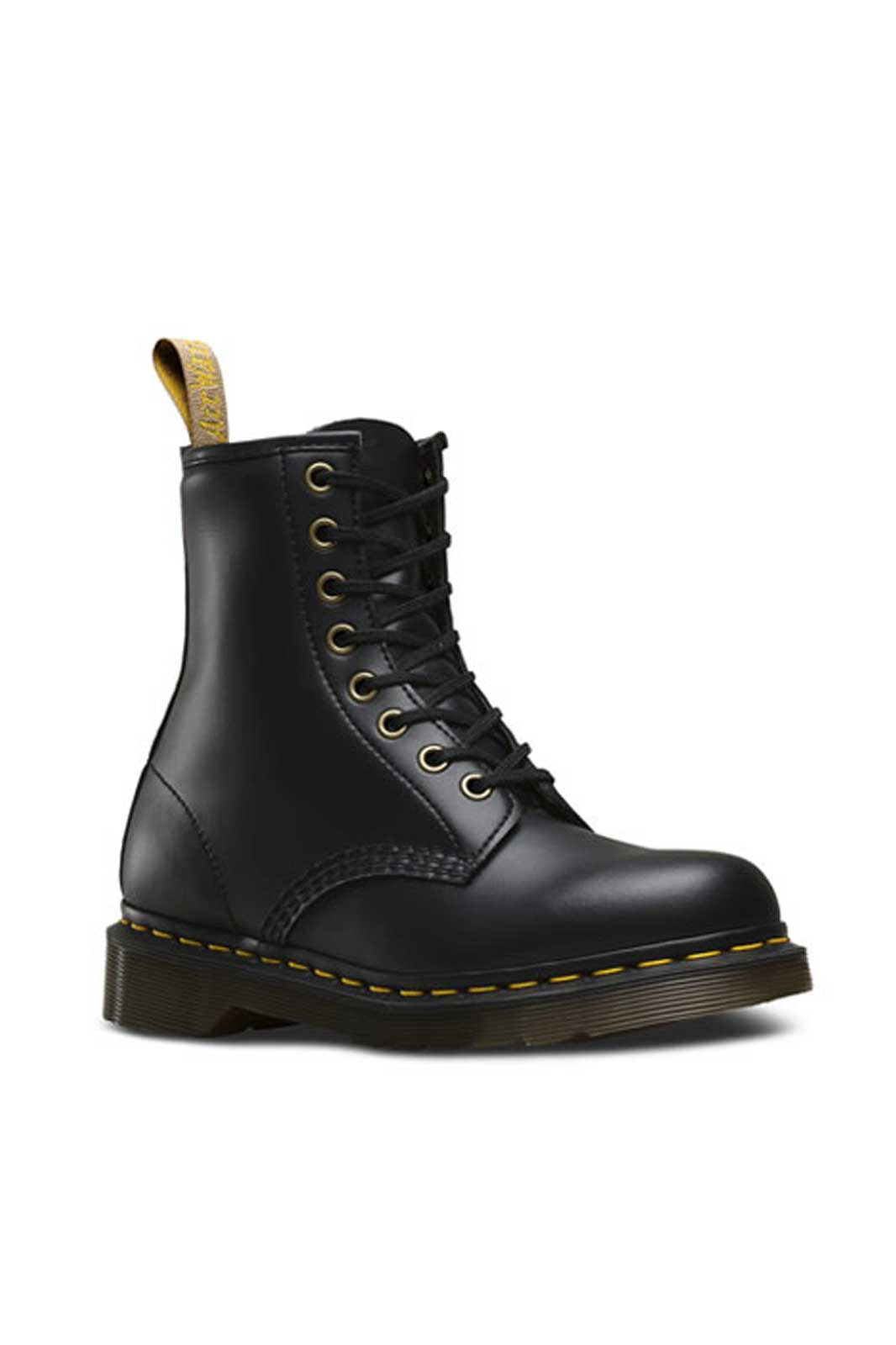 dr martens 1460 vegan 8 eye boot black