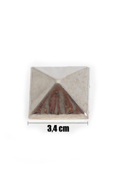34mm Pyramid Studs