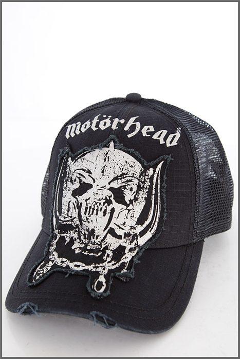 78ca84f99a4 Trucker Cap Motörhead Washed - Shock Store - EU