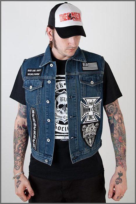 Vest Black Label Society Shock Store Eu