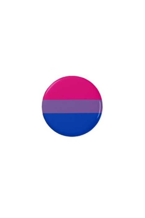 Bi Flag Pin