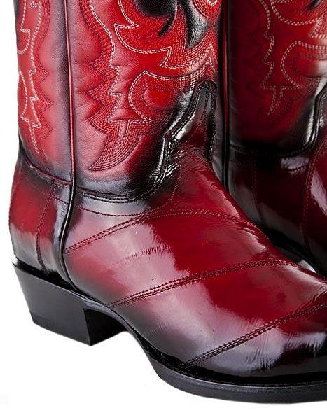 Cowboy boot eel