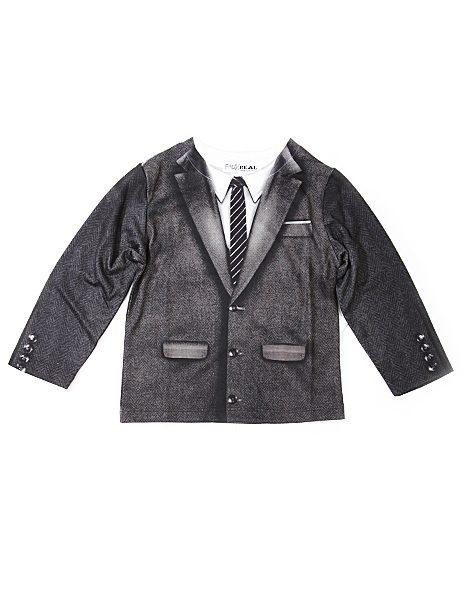Kids LS Tee 1960's Suit