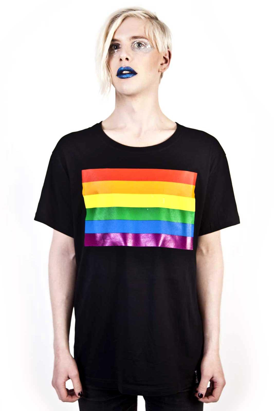 Pride Flag Tee