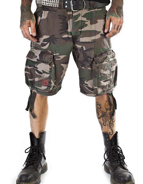 Airborne Vintage Shorts Woodla