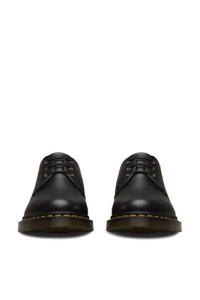 dr martens 1461 vegan 3 eye shoes black