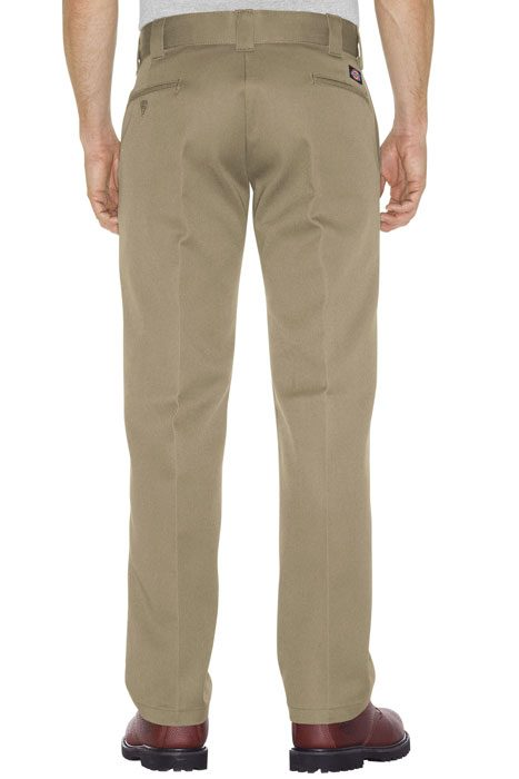 Boys Straight Work Pant khaki