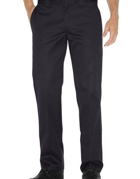 Boys Straight Work Pant black