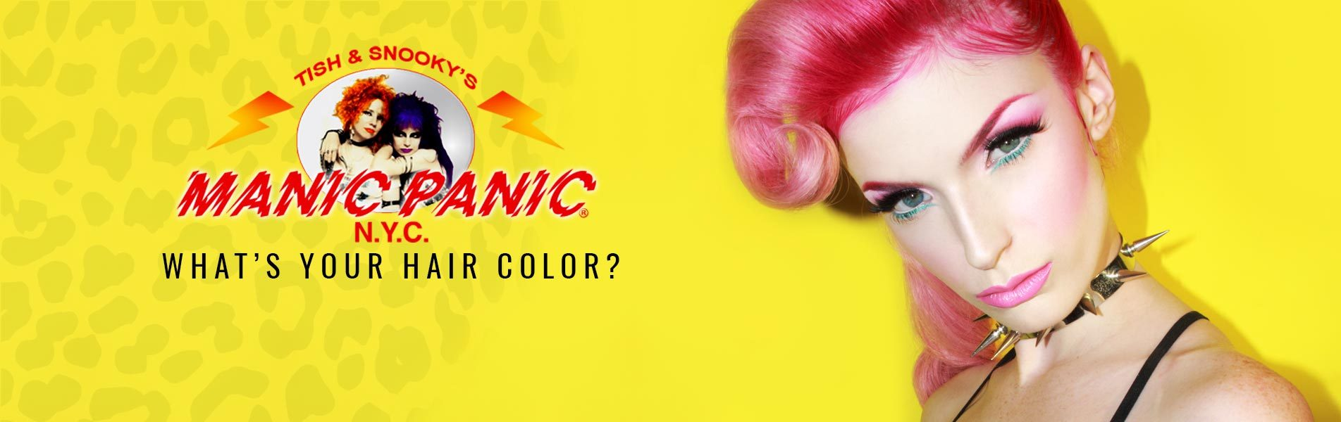 Hair colors banner