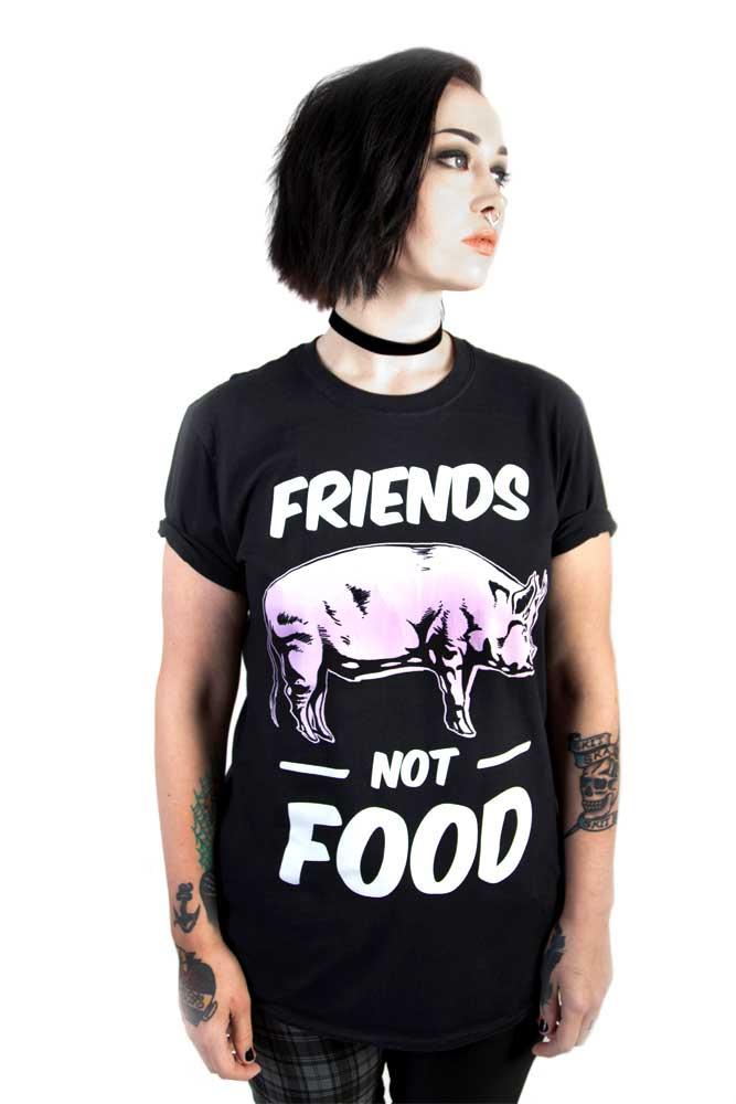 Friends Not Food Tee