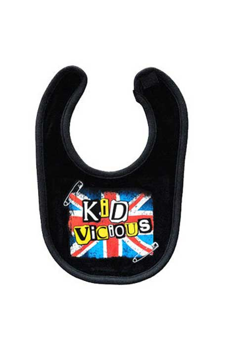 Kid Vicious Baby Bib
