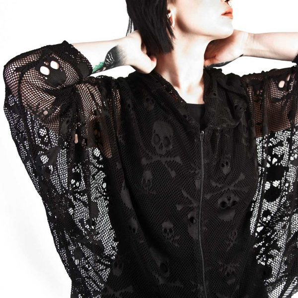Netted Poison Hoodie