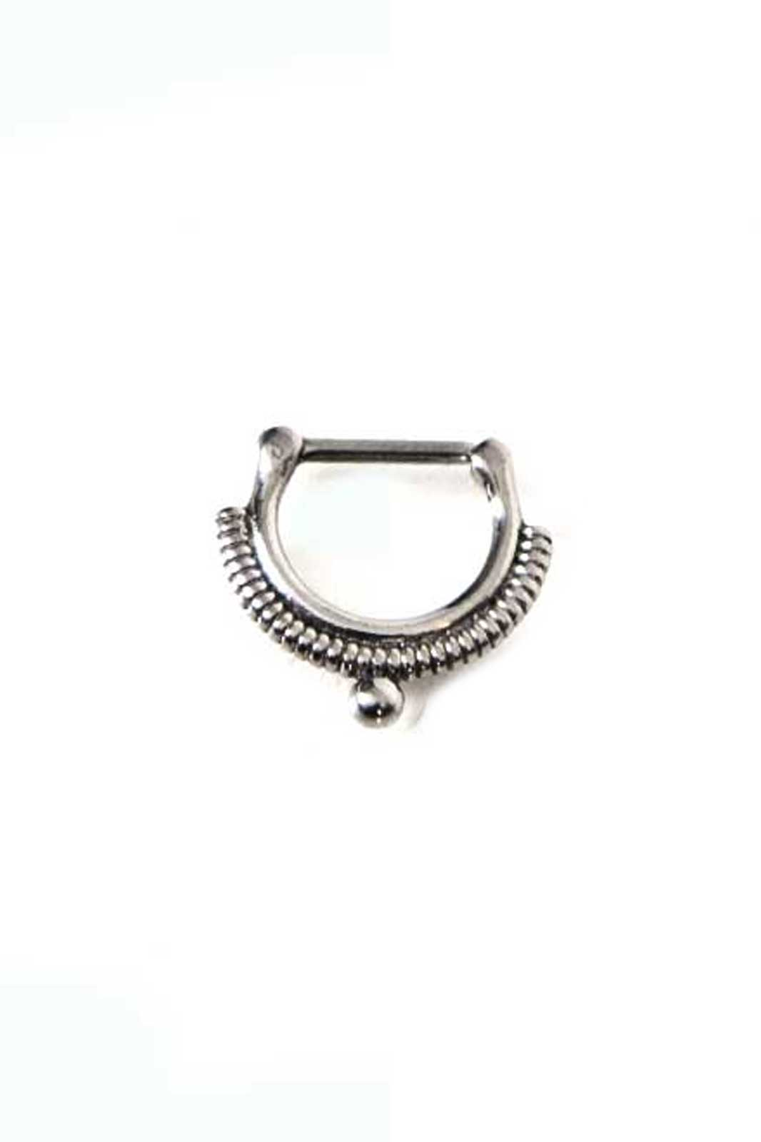 body vibe wrapped septum clicker