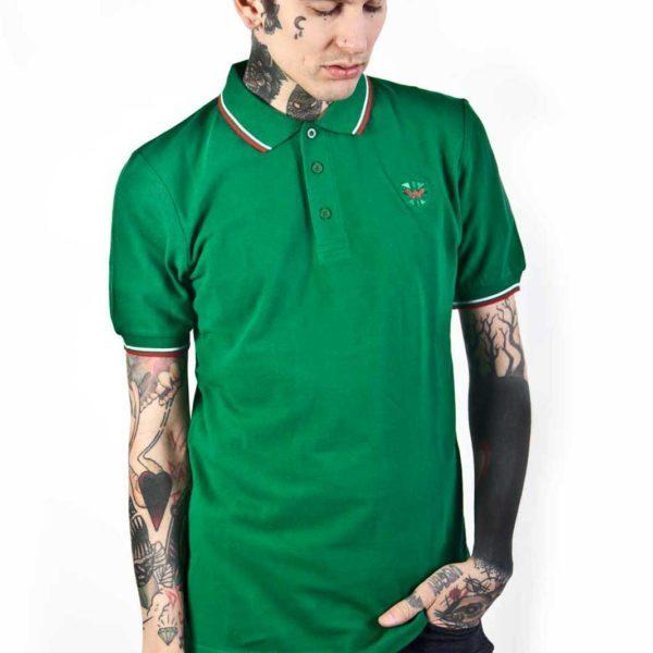 Soul 45 Polo Shirt Green Front