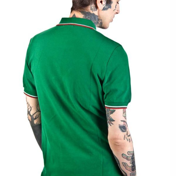 Soul 45 Polo Shirt Green Back