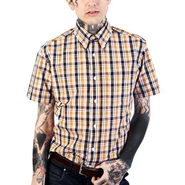 Classic Shirt Stamp Yellow Front