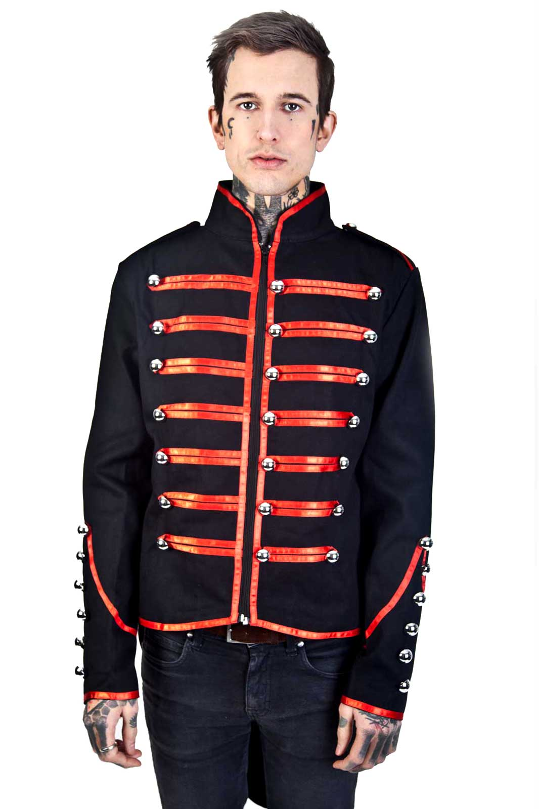 Military Drummer Tail Coat Front