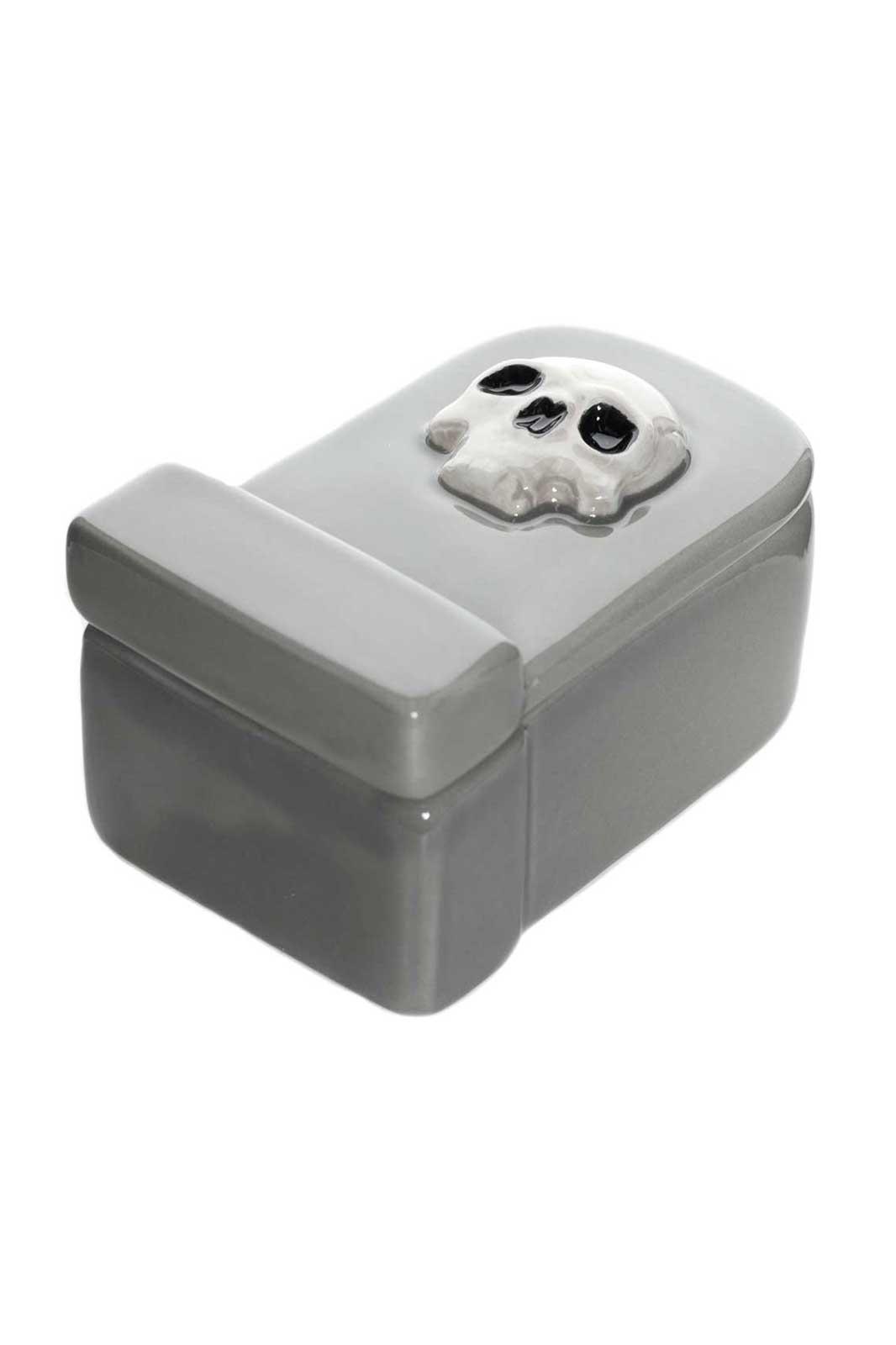 Tombstone Jewelry Box Side