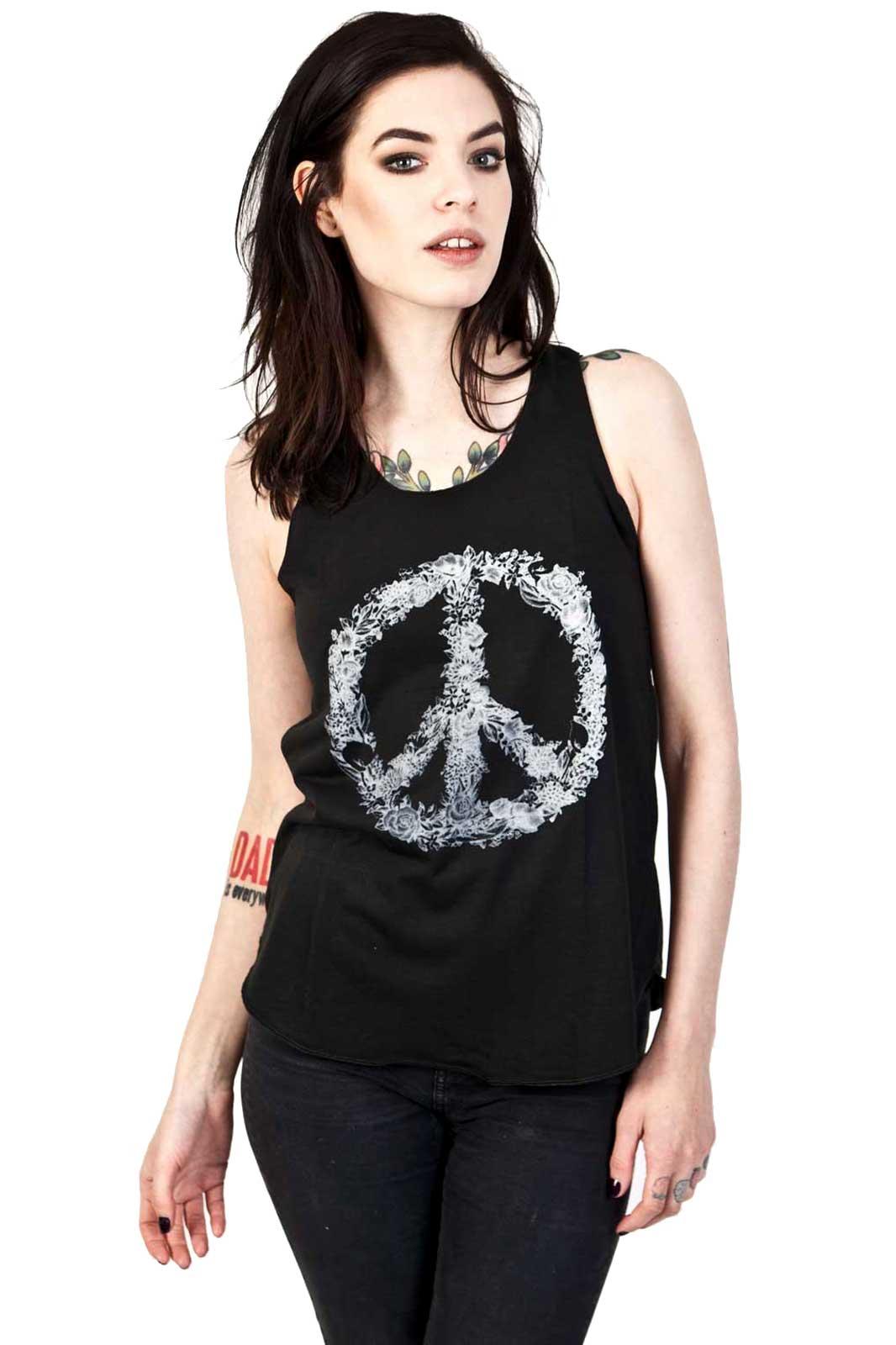 Flower Peace Vest Front