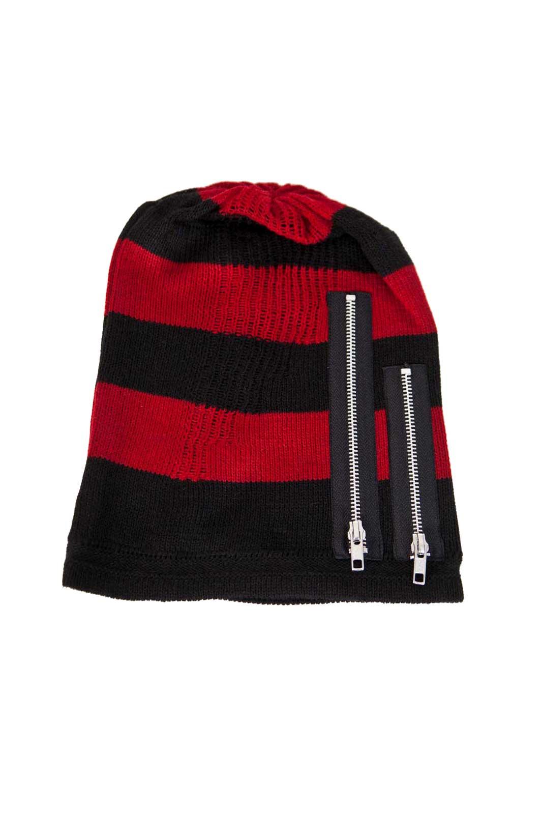 Krueger Hat Black & Red