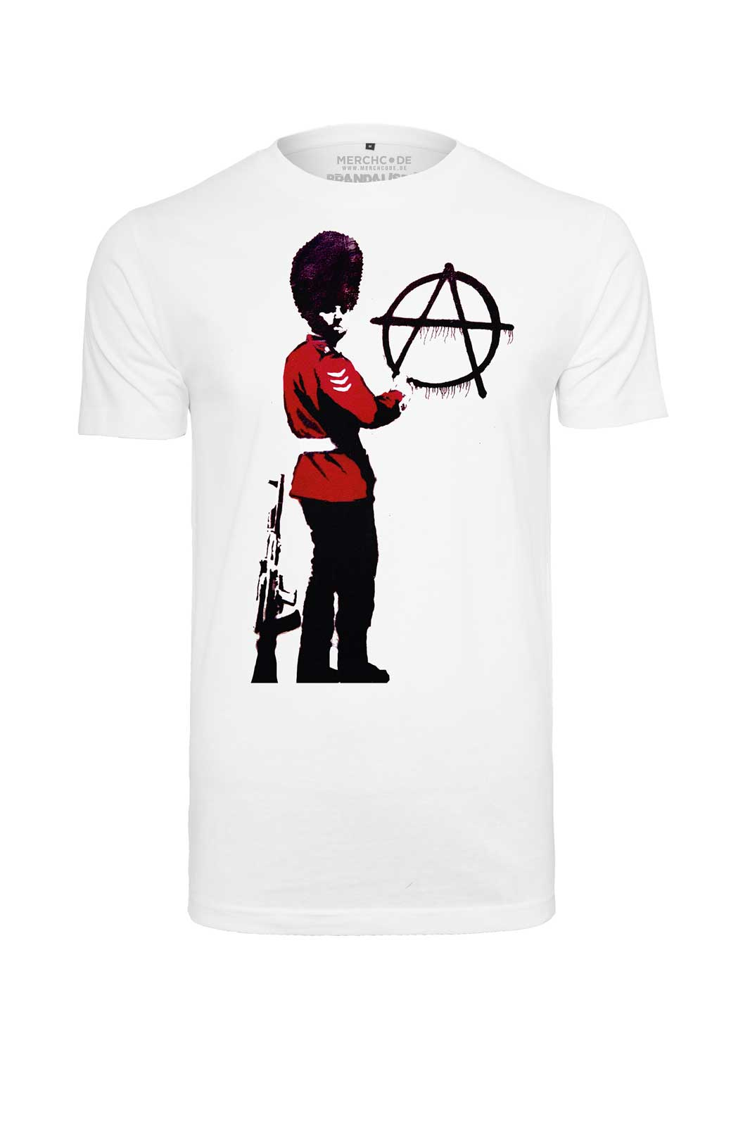 Tee Banksy Anarchy Front