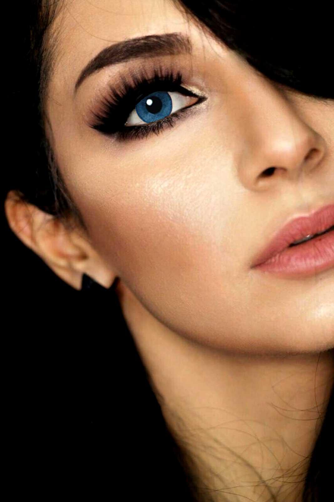 mesmer eyes lenses 3 month blue