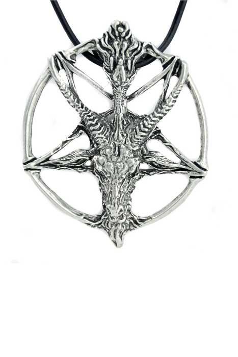 etnox Pendant Baphomet Pentagram Stainless Steel