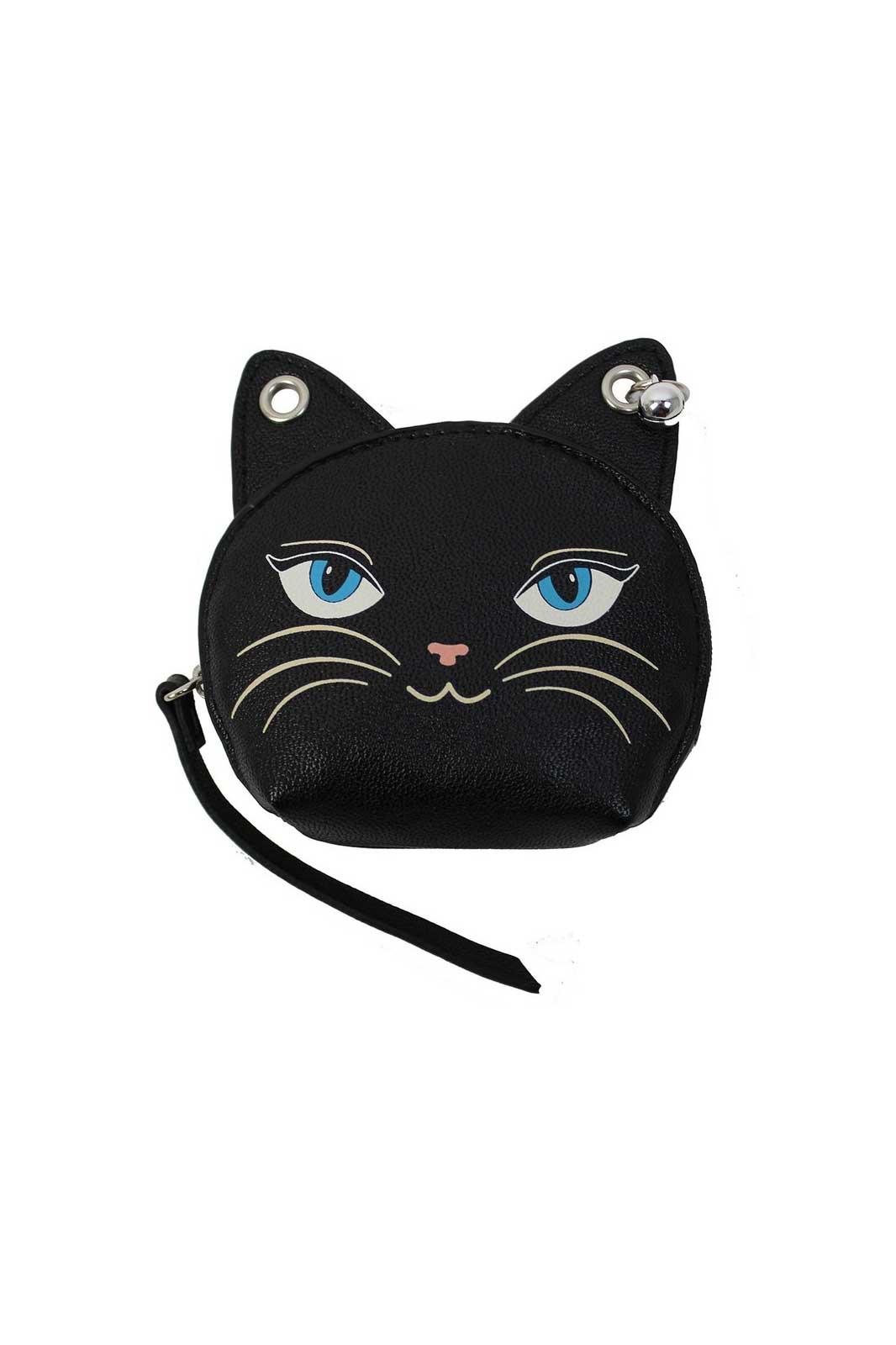 feminine feline coin purse