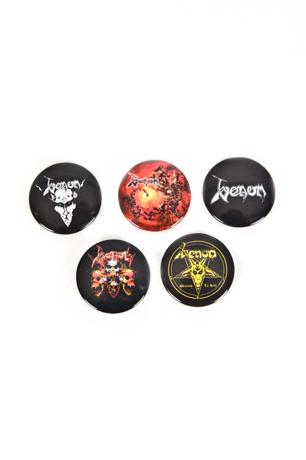 official merchandise venom badge 5-pack