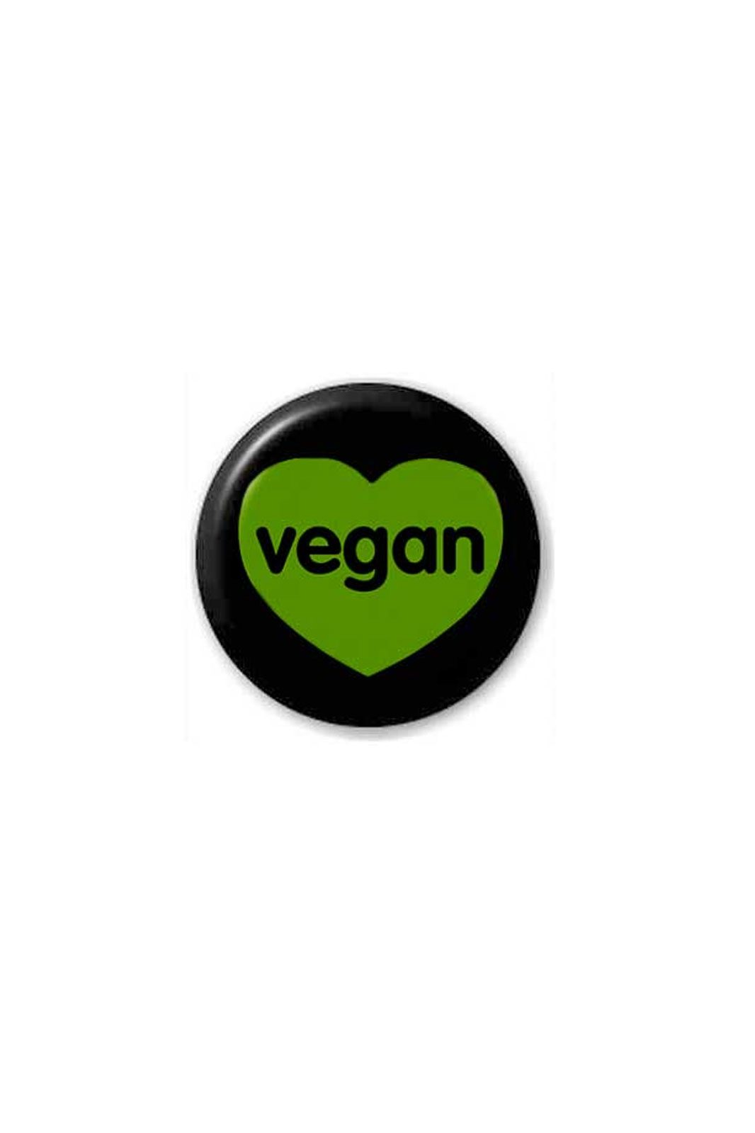 extreme largeness vegan badge