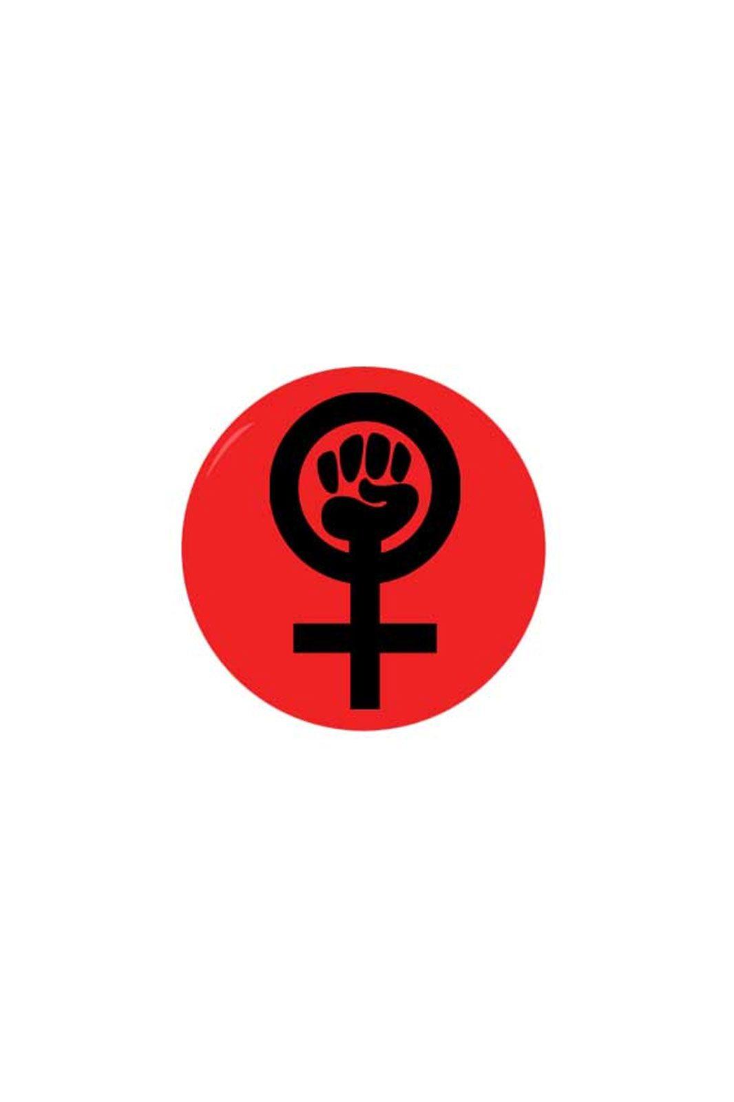 extreme largeness feminist magnet